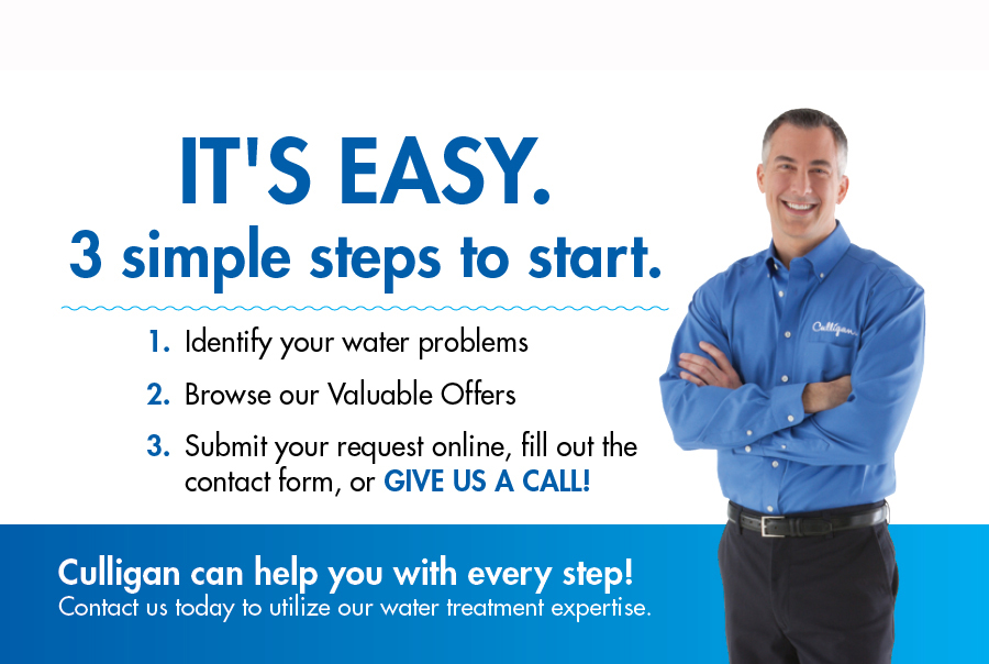 Steps to Contact Culligan